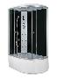 Hidromasszázs zuhanykabin LE- KER- JUK aszimmetrikus országos szállítással is