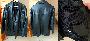 Valódi hElium férfi bőrkabát XL –es